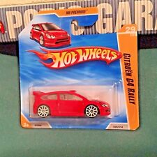 Hot Wheels CITROEN C4 World Rally '10 Premiere #29 French Racing Intl Short NMC