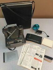 Vintage Polaroid Land Camera Automatic 103 w/ Case, Manual & Accessories
