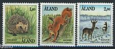Aland/Åland 1991, Wild animals full set MNH