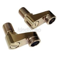 Gold Color Brass Claw Foot Bath Tub Faucet Adjustable Adapter Swing Arms Khg056