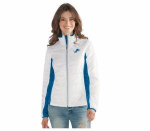 G-III 4her Detroit Lions Women's Grand Slam Full Zip Jacket - White
