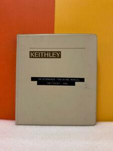 Keithley S3-3967 System 300 Maintenance Training Manual