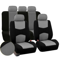 5Seats Seat Cover for Sedan Mesh Polyester Protector Breathable Easy to Clean