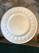 """WEDGWOOD COLOSSEUM Platinum 7"""" Bread & Butter Plates Set Of Six New In Box"""