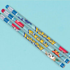 POKEMON Sun and Moon PENCILS (12) ~ Birthday Party Supplies Paper Stationery