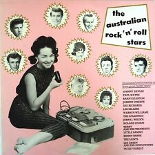 Australian Rock 'n' Roll Stars LP Warren Williams-The Atlantics-Barry Stanton