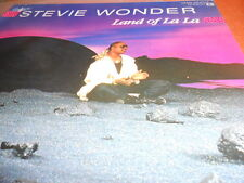 "12"" Stevie wonder, Land of la la"
