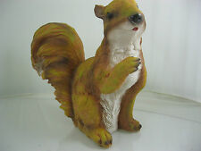 Red Squirrel Sitting Real Life Ornament by WESTWOODS