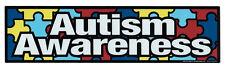 Magnetic Bumper Sticker - Autism Awareness (Puzzle Pieces, Autistic) - Magnet