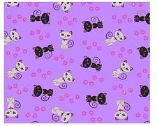 Premium Microfibre Lens Cleaning Cloths Cute Cats Purple Glasses Cleaner