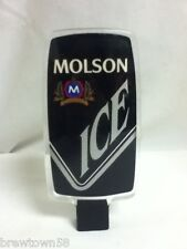Molson ice import beer tapper handle tap taps tappers knob pull J6 Canada old