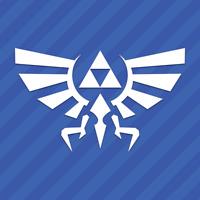 Zelda Triforce of Hyrule Vinyl Decal Sticker