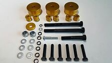 "WAY2TUFF Toyota Landcruiser 200 Series IFS 4WD BILLET Diff Drop Kit 2-3"" Lift"