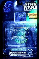 1997 Star Wars POTF EMPEROR PALPATINE Electronic Power F/X w/energy bolts remote