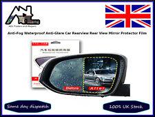 2pcs Anti-Fog Waterproof Anti-Glare Car Rearview Side View Mirror Protector Film