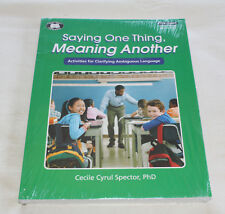 Super Duper TPX12901 - Saying One Thing Meaning Another Educational Workbook