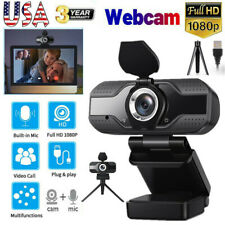 1080P Full HD Webcam USB 2.0 Computer Web Camera W/Built-in Mic For PC Laptop US
