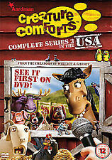 Creature Comforts - Series 3 - In The USA Dvd Brand New & Factory Sealed