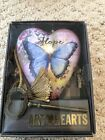 """Art Heart """"Hope"""" Sculpted Wings with Key Stand by  Demdaco"""