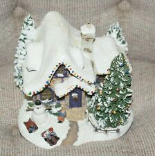 Thomas Kinkade Teleflora 2006 Sweet Heart Cottage Iii Village