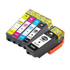 5 Pack non-OEM for Epson XP-830 XP830 410 XP-640 XP-530 - Works with all printer