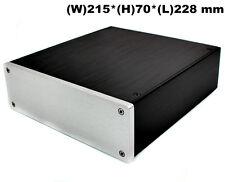 Douk Audio Aluminum Chassis Mini Case Hi-Fi Enclosure DIY Box Amplifier Cabinet
