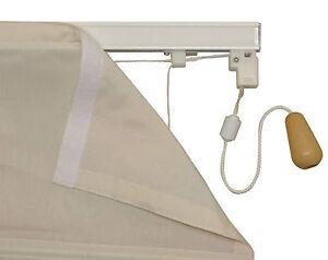 "ROMAN BLIND KIT TRACK SYSTEM 90cm x 1,80cm 35""x70"" LOWEST PRICE ON EBAY"