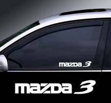 Mazda 3 Logo Window Decal Sticker Graphic *Colour Choice*