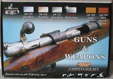Lifecolor Acrylics LC-CS26 Guns and Weapons paint set