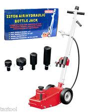 Industrial 22 Ton Air  Hydraulic Bottle Floor Jack HD Truck Mechanic Tire Tool