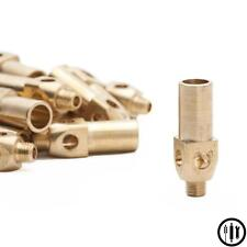 Six (6) Brass Replacement Tips  / Nozzles for Jet Burners - Propane LP