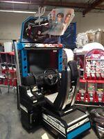 arcade gam Sega Initial D 7