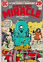 MISTER MIRACLE#13 FN/VF 1973 JACK KIRBY DC BRONZE AGE COMICS
