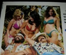 Original CHEECH & CHONG NICE DREAMS 22x28 1/2 sheet ROLLED Signed TOMMY CHONG