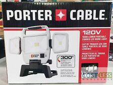 Porter Cable 120V 5000 Lumen Corded LED Work Light