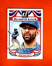 2014 DONRUSS DIAMOND KINGS PRESS PROOFS SLIVER #6 JOSE BATISTA 21/99 BLUEJAYS
