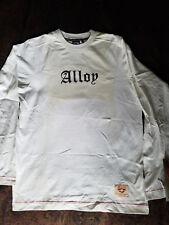 Alloy Long sleeve Dirtbike T-Shirt Size Medium White New