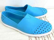 Native Shoes Turquoise Blue Slip-On Size M 8. W 10