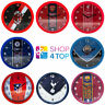 OFFICIAL FOOTBALL SOCCER CLUB TEAM WALL CLOCK ROUND HOME ROOM DECOR DECORATION