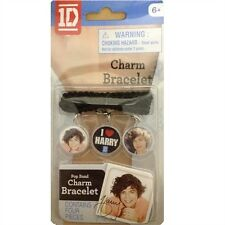 ONE DIRECTION CHARM BRACELET SET - ALL FIVE MEMBERS INCLUDED - BRAND NEW SEALED!