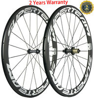 50mm Carbon Wheels Road Bike Clincher Bicycle Wheelset 700C Racing Cycle Shimano