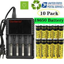 Garberiel 18650 3.7V Battery Li-ion Rechargeable Batteries For Flashligh Toys