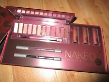 NEW VAULT URBAN DECAY CHERRY NAKED EYE SHADOW PALETTE + 3 LIPS+ 2 PENCIL
