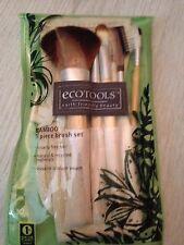 EcoTools, cinco piezas tamaño completo nuevo conjunto, 5 Cepillos Con Bolsa/Estuche. Bolsa vendedor del Reino Unido