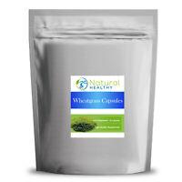 60 Organic Wheatgrass VEGAN Capsules - UK Made - High Quality Supplement
