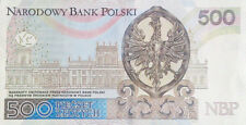 POLAND Polish National Bank 500 zl 2016 Poland Jan III Sobieski series AA4397355
