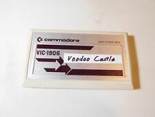 Commodore Vic-20 computer cartridge - Voodoo Castle - WORKS