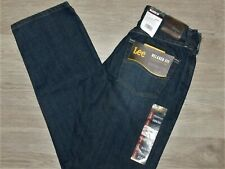 LEE Relaxed Fit Jeans Straight Leg Relaxed Seat & Thigh Zion Dark Blue Pick Size