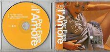IRENE GRANDI CD SINGLE 2 TRACCE VASCO ROSSI  PER FARE L'AMORE + DUB VOCAL REMIX