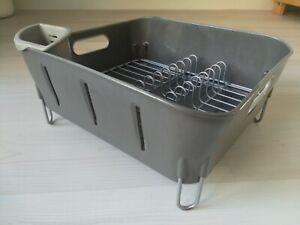Simplehuman Compact Dish Rack Grey RRP £30
